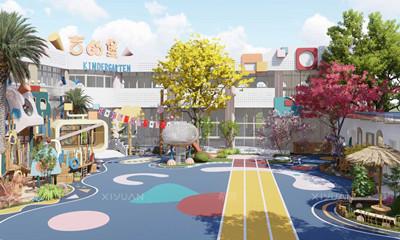 松江区吉的堡幼儿园设计