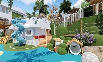 阳光沐德幼儿园户外场地设计